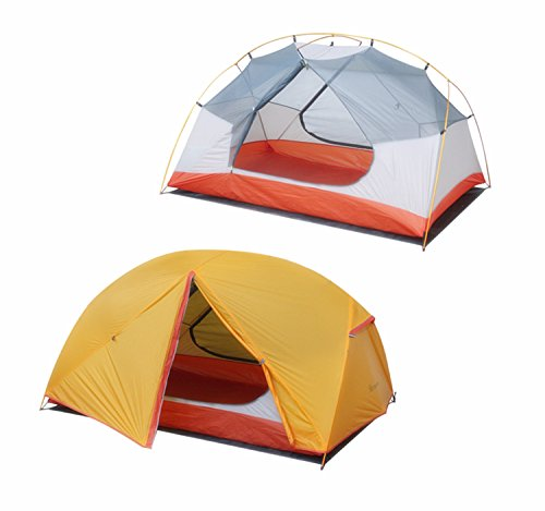 STAR HOME Ultralight Camping Tent Waterproof 1-2 Person Tents