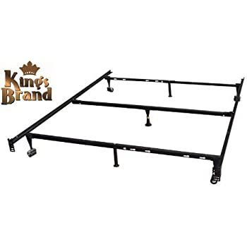 Amazon Com Zinus Michelle Compack 9 Leg Support Bed Frame For Box