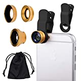 Universal 3in1 Cell Phone Camera Lens Kit for
