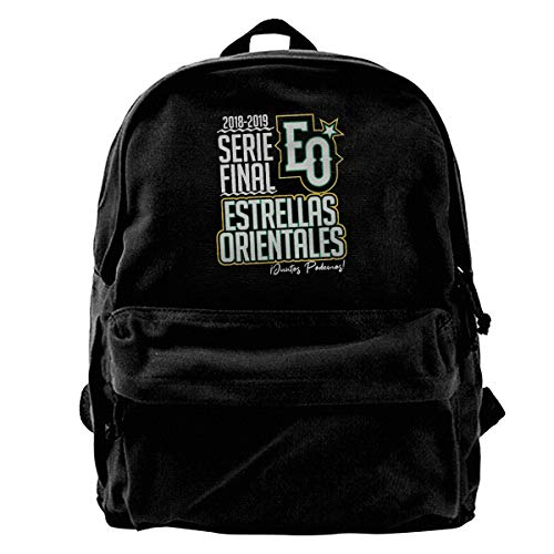 CidllPrinted Canvas Adult Backpack for Hiking,for Traveling,for Laptop for School Personalized Pattern Customization Estrellas-Orientales-Serie-Final-2018-2019