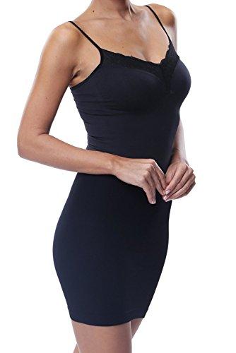 22f4b6ade9381 Belugue Women Shapewear Body Shaping Control Dress Full Slip With Lace