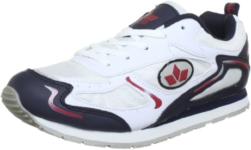Lico Nelson 110078 - Zapatillas de deporte para hombre Blanco (Weiß (weiss/marine/rot))