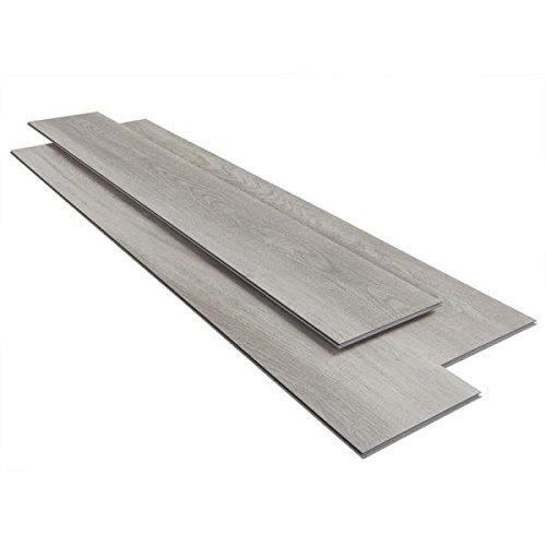Home Decorators 03918 7.5 in. x 47.6 in. Coastal Oak Luxury Vinyl Plank Flooring (24.74 sq. ft./case) (Vinyl Planks Oak)
