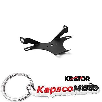 Krator 2004-2006 Yamaha YZF R1 No Cut Black Frame Sliders Crash Protectors Motorcycle KapscoMoto Keychain