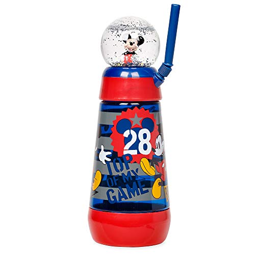 - Disney Mickey Mouse Snowglobe Tumbler with Straw