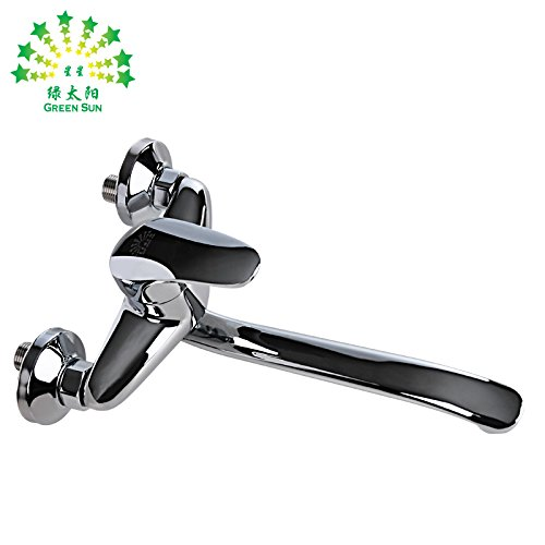 Bijjaladeva Bathroom Sink Vessel Faucet Basin Mixer Tap kitchen sink hot and cold tap water diversion can be redated 360° elbow stainless steel plated copper tube throughout length