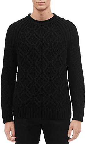 Calvin Klein Mens Cable Knit Sweater