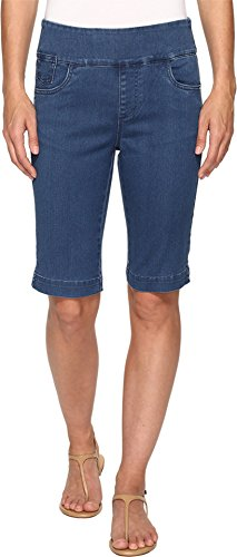FDJ French Dressing Jeans Women's D-Lux Denim Pull-On Bermuda in Denim Denim Shorts