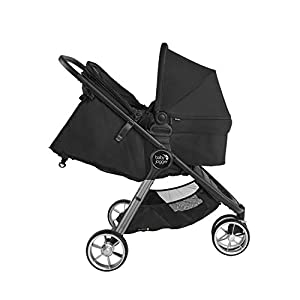 Baby-Jogger-City-Mini-2-Stroller-2019-Compact-Lightweight-Stroller-Quick-Fold-Baby-Stroller-Jet-with-Baby-Jogger-Bassinet-Jet