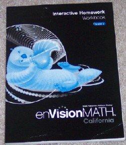 Interactive Homework Workbook, Grade 3 (enVision Math