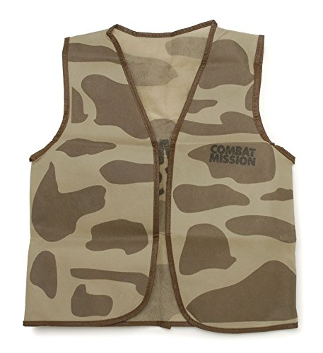 """Darice 16 by 20"""" Dress Up Vest, Camouflage"""