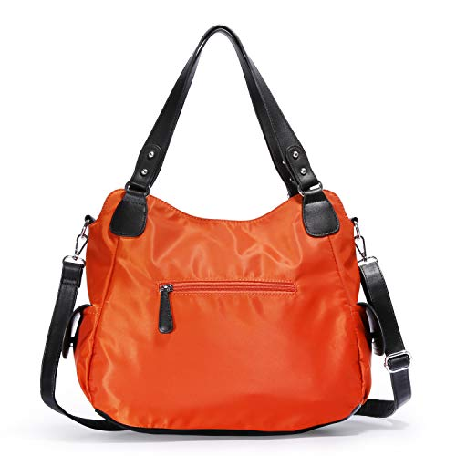 Top Leather Satchel Shoulder Handle Washed Messenger Angelkiss Women Purses Tote Bag Handbags CvOq55Hwx