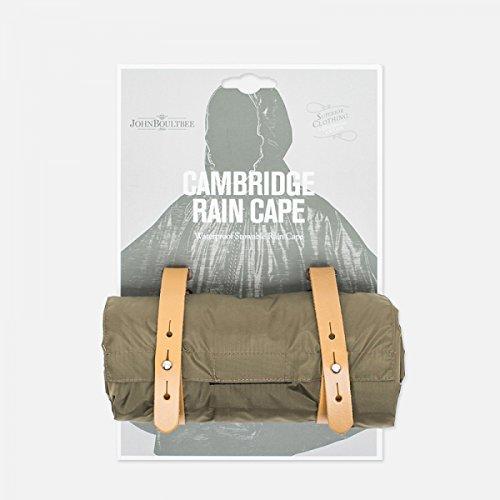 Brooks Saddles Cambridge Rain Cape, Olive, Medium/Large