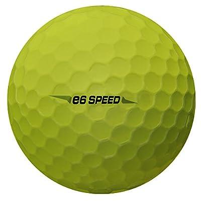 Bridgestone e6 Speed Golf Balls (24pk, YELLOW, 2017) Fast Distance E-6