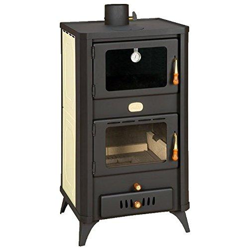 Caldera de leña estufas con horno Prity, Modelo FG W18 R, salida de calor 23 kW, patas: Amazon.es: Bricolaje y herramientas