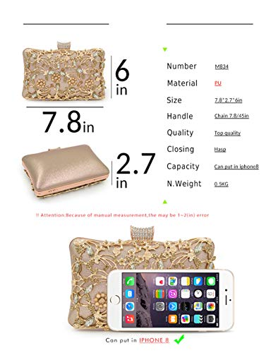 Female Quality Box Purse Women Bag NEW Bags Top Clutches Evening Wedding Clutch Silver Ladies YUqIvxB