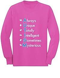 Autism Always Unique - Autism Awareness Toddler/Kids Long Sleeve T-Shirt