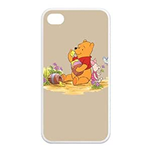 FashionFollower Personalized Movie Series Winnie the Pooh Hot Shell Case For iphone4/4s IP4WN26008