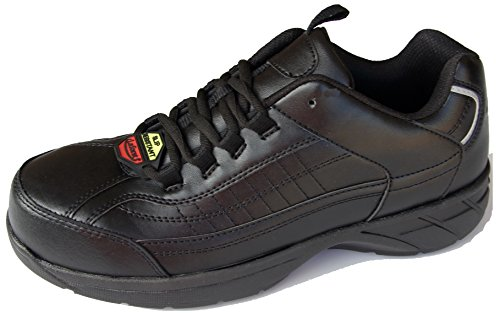 Slip 9405 Resistant Work Mens Black Toe Laforst George Sneakers Composite ZUBxpI