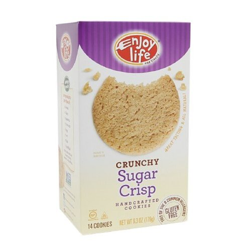 Enjoy Life Sugar Crisp Cookies, Crunchy, 6.3 Ounce (Pack of 6)
