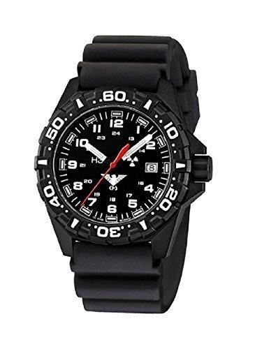 DB - Reloj de pulsera para submarinismo con protector de cristal, color negro: Amazon.es: Relojes