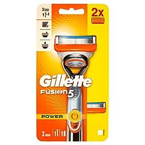 Gillette Fusion Power Rasoir pour homme, 60Grains