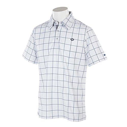 フィドラ(フィドラ) ウィンドウペンガラハンソデポロ (メンズ半袖ポロシャツ) FA110118 WHT