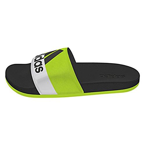 Adidas Performance Adilette Supercloud sandalia Semi Solar Slime-Black-White