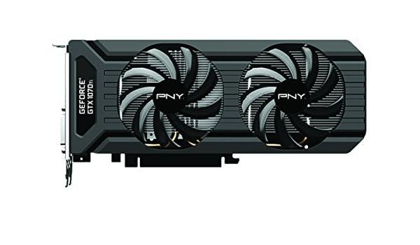 PNY GeForce GTX 1070 Ti Tarjeta gráfica (VCGGTX1070T8PB-CG ...