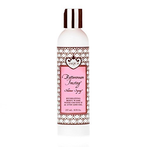 Jaqua Raspberry Buttercream Frosting - Jaqua Buttercream Frosting Hydrating Shower Syrup