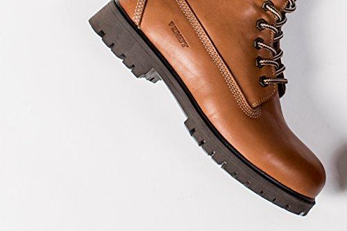 Original Fendt Lederstiefel boots in hellbraun; Herrenschuh