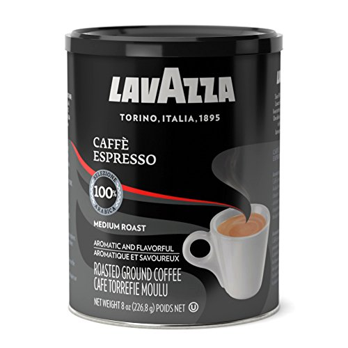 Lavazza Espresso Ground Coffee 8 Ounce