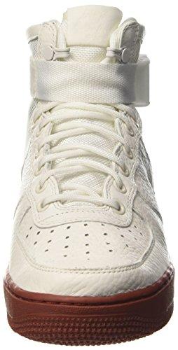 Nike Mens Sf Air Force 1 Mitten Skor Elfenben / Mars Sten / Elfenben 917.753-100 Storlek 13