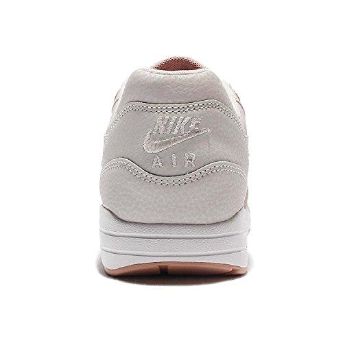 Nike Femmes Wmns Air Max 1 Ultra Se, Os Léger / Lumière Bone-mtlc Rouge Bronze, 6 Us
