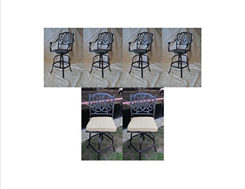 6 Arm Chair Set - 4