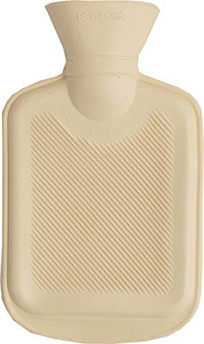 Vagabond Bags 0.5 Litre Single Mini Rib Buttermilk Hot Water Bottle