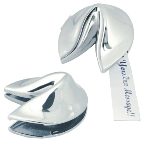 Fortune Cookie, Silver (60-2700) - Fortune Cookie Favors