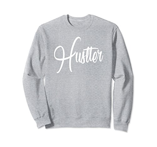 Unisex Entrepreneur Sweatshirt | Hustler Hard Work Motivation Medium Heather - Sweatshirt Hustler