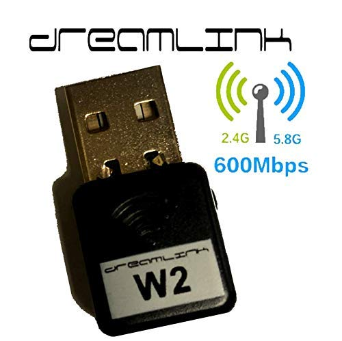Dreamlink/Formuler USB WiFi Dongle High Gain Wi-Fi Dreamlink Dlite+ T2 & Formuler Zx Z7+ (W2 600MBPS)
