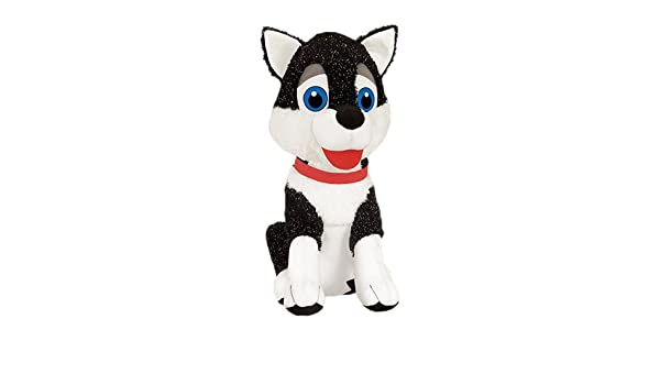 Black ToySource January The Husky Dog Plush Collectible Toy 29 29 RetailSource Ltd 6-791