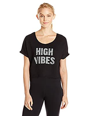 Alo Yoga Women's Beam 2 Short Sleeve Top-Graphic