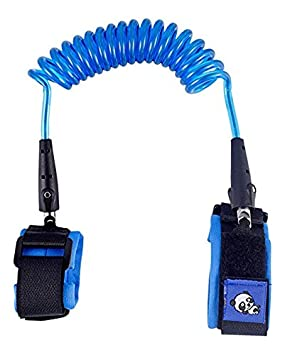 PAMBO Anti-Lost Wrist Link/Strap/Leash For Toddlers & Kids Safety| Safety Harness For Your Child| Blue A04