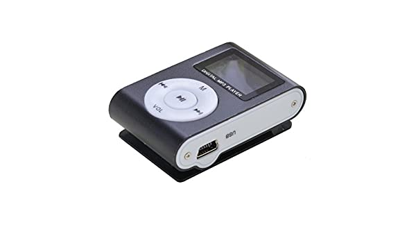Generic Negro Mini Clip Reproductor de mp3 USB Radio FM ...