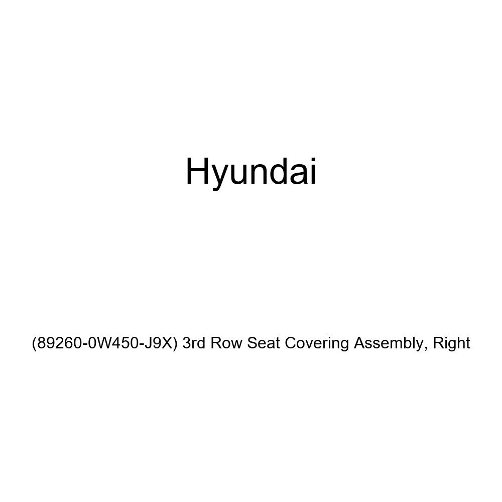 3rd Row Seat Covering Assembly 89260-0W450-J9X Right Genuine Hyundai