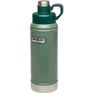 Stanley Classic Vacuum Water Bottle, Hammertone Green, 36 oz