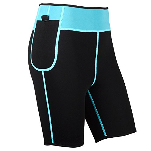 Hanmeimei Women's Slimming Pants Neoprene For Lose Weight Fat Burning Sweat Sauna Capris Leggings Body Shapers