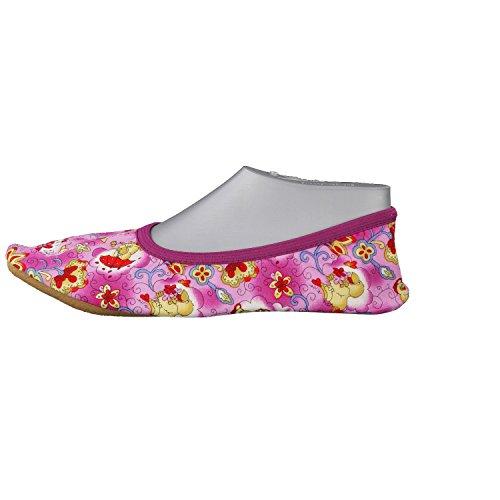 Beck zapatos de gimnasia para niños Daggy 222 morado - fucsia