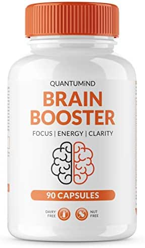 Nootropics Brain Supplement - Focus Supplement for Memory :: Concentration :: Clarity :: Energy - Mental Health and Memory Supplement for Brain with Ashwaganda - QUANTUMiND by Filtered Formulas (90)