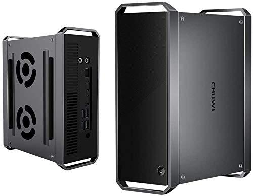 CHUWI CoreBox Desktop Mini Business PC, Intel Core i5-5257U (Up to 3.1GHZ), Windows 10, 8GB RAM, 256GB SSD, Expand 2TB 2.5 Inch HDD, WiFi 2.4/5G, Gigabit Ethernet, 4K@30Hz, BT4.2, Dual HDMI, USB 3.0