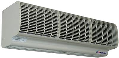 Pioneer Air Curtain (Air Door), Heavy Duty Commercial Design, High Velocity, 2 Speed, 110 VAC.